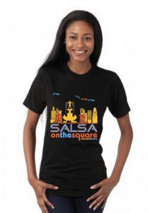 2015 Salsa on the Square shirt