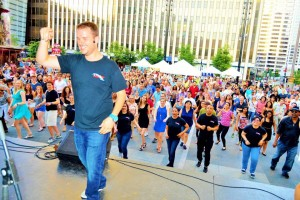 Salsa on the Square Cincinnati Dance Instructor, Jeff Link