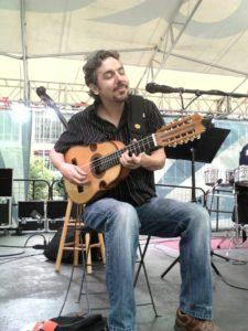 Salsa On The Square co-founder, Nicholas Radina.