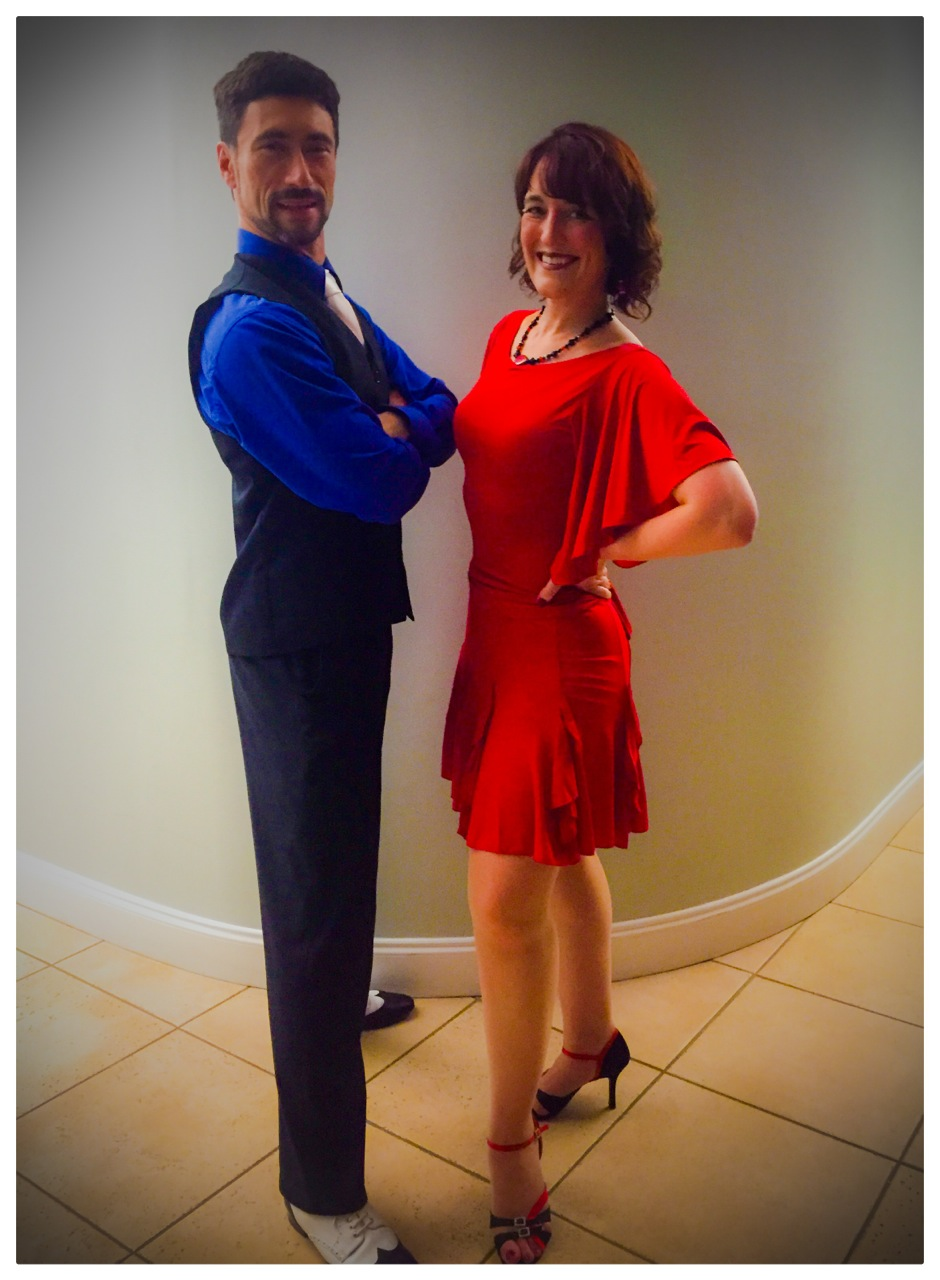Salsa on the Square Dance Instructors, Robert Rice & Rachel Hrnyak