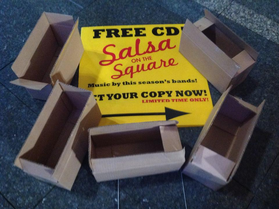 Salsa On The Square CD