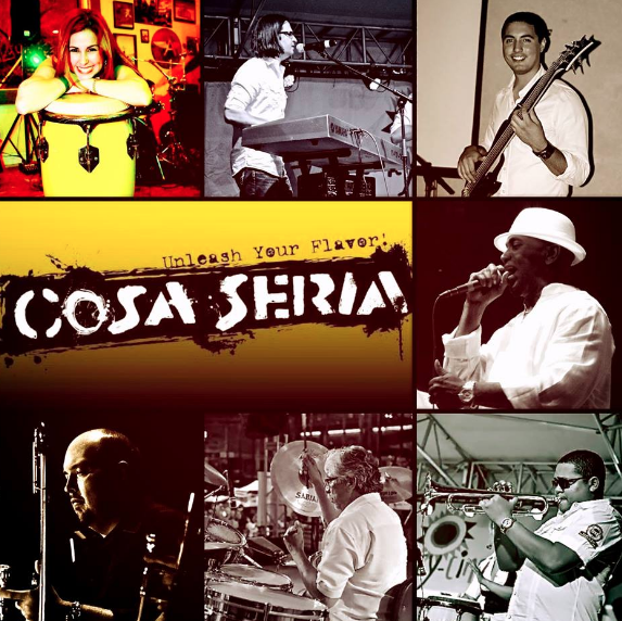 Cosa Seria Salsa On The Square