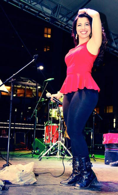 Tina Tropicoso Salsa on the Square