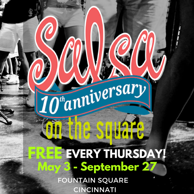 Salsa On The Square 2018 returns May 3 - September 27!