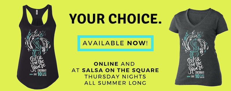 Salsa On The Square Shirts 2018 WP